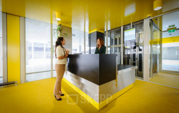 bemande receptie met ondersteunende receptiediensten in business center rotterdam bahialaan brainpark