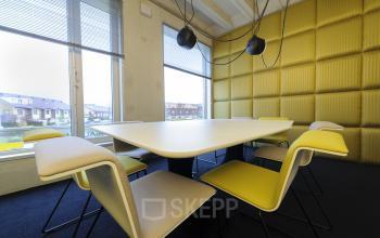 vergaderen yellow room kantoorruimte zapp rotterdam