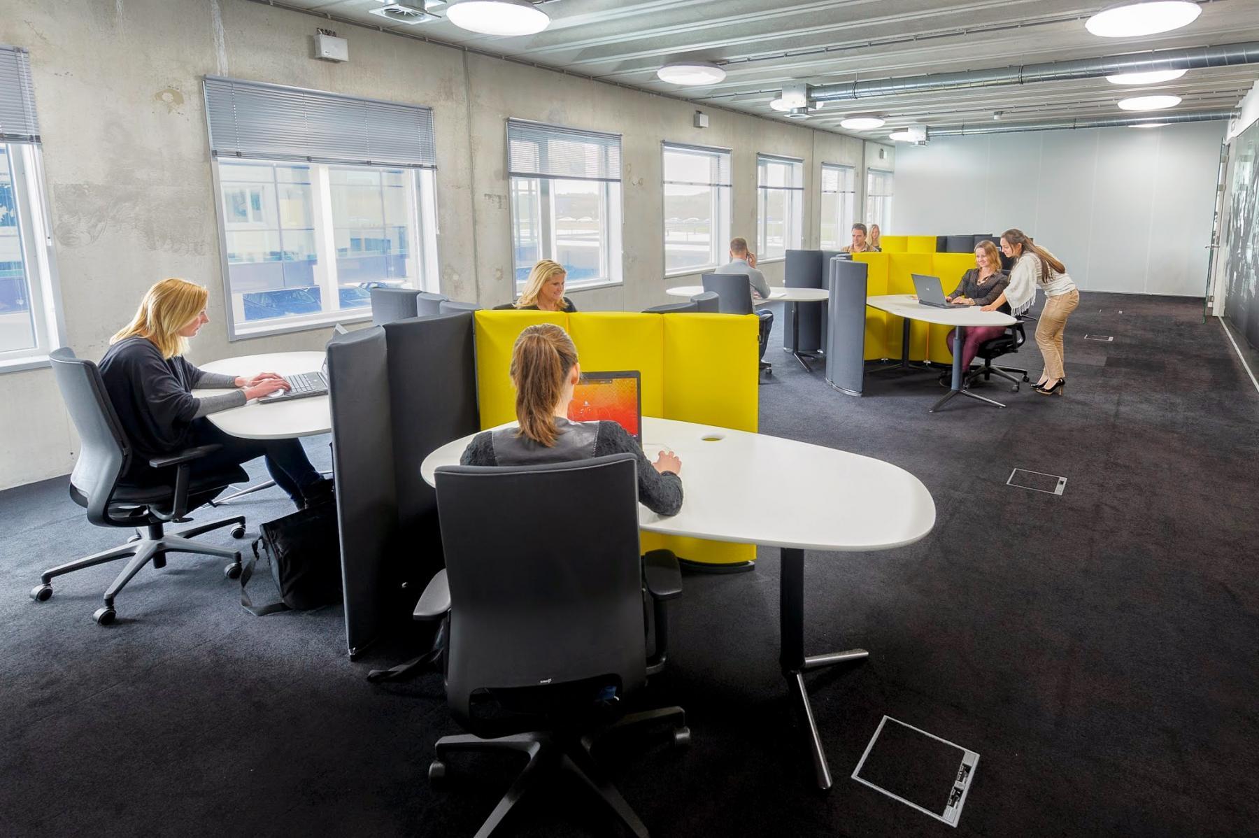 flexwerkplekken om te flexwerken in rotterdam brainpark huren