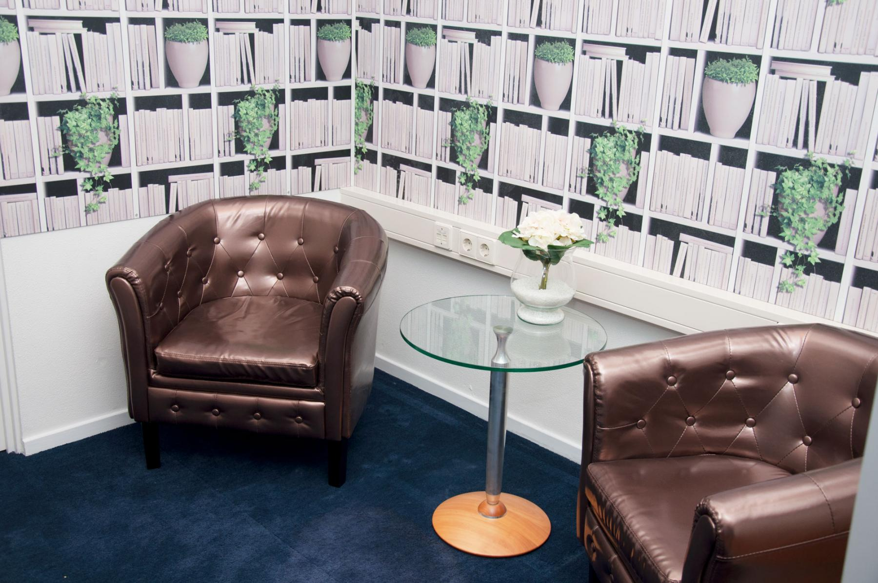 brainstorm in this seating area