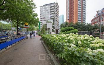 kantoorpand huren bij metro in centrum van rotterdam