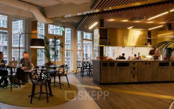 lunchroom nice room cosy wood industrial design