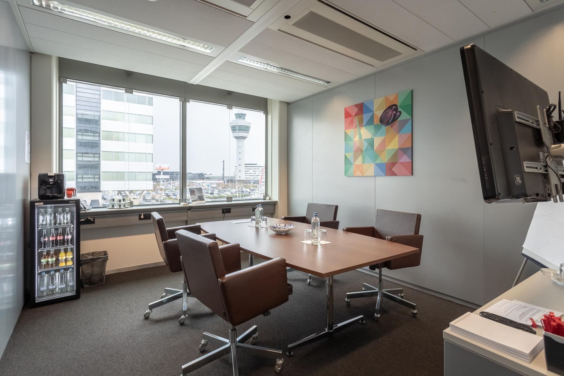Amsterdam Airport Schiphol offices furnitured