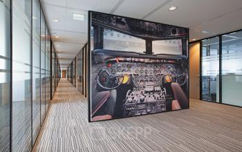 kantoorpand kantoorgebouw meubilair Amsterdam Schiphol