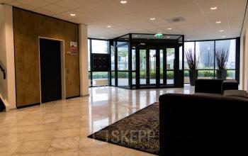 Modern spacious entrance