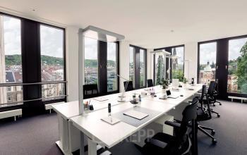 Großer Büroraum mit Arbeitsplätzen Stuttgart Mitte