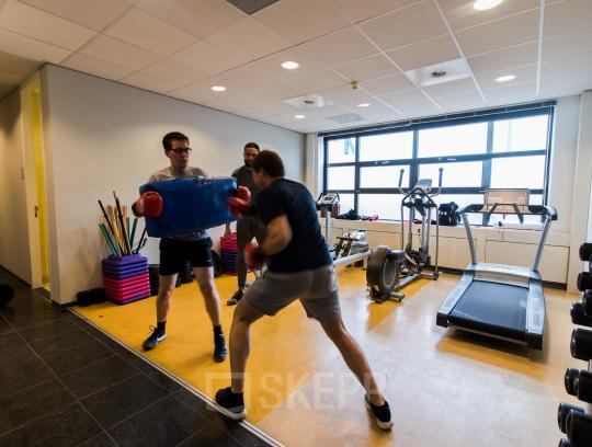 Fitness at office space Zonnebaan Utrecht