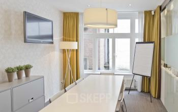 meeting room bright room whiteboard
