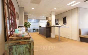open ruimte kantoorpand Orteliuslaan Utrecht