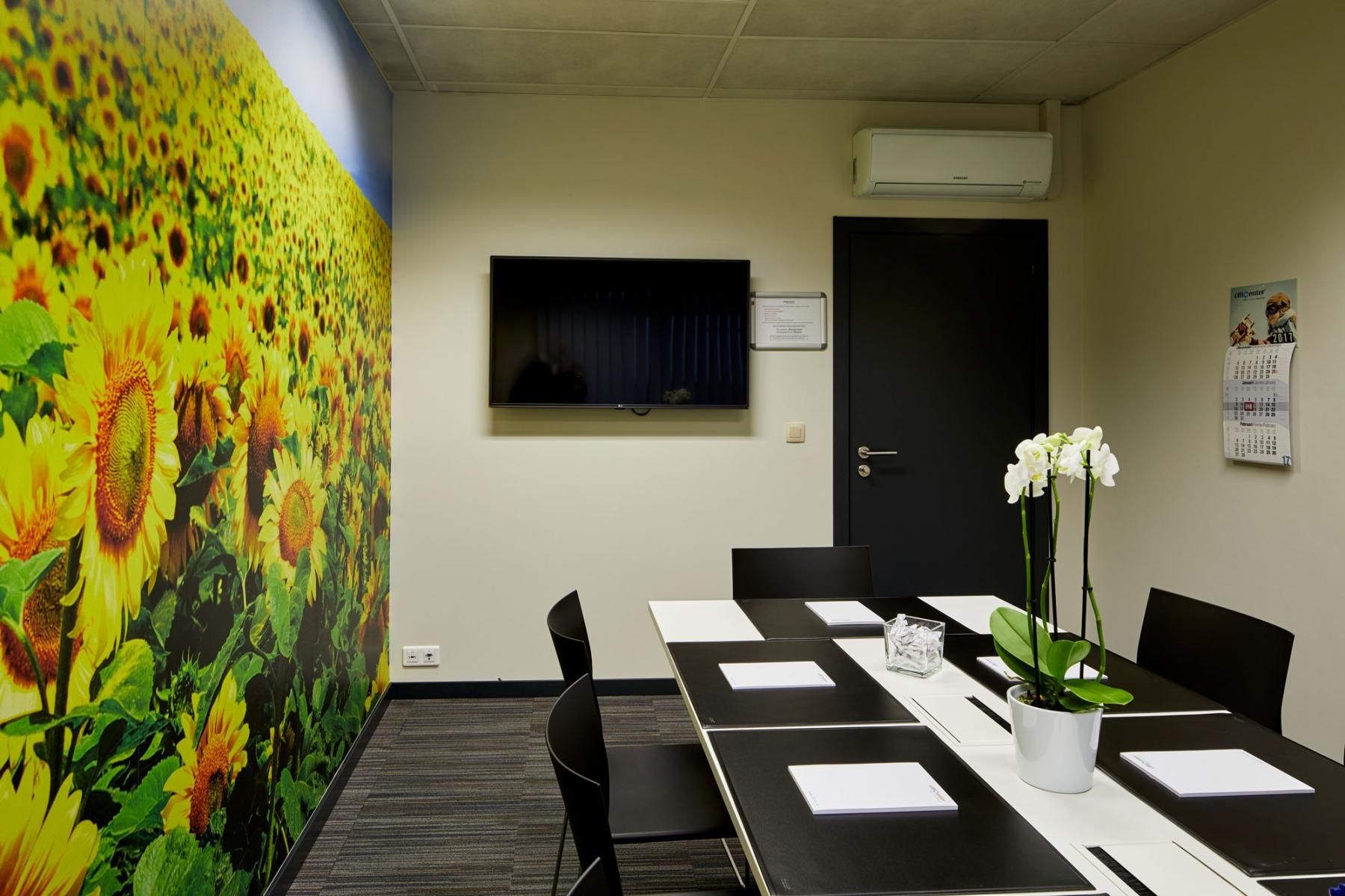 meeting room for six people