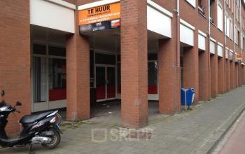 ingang kantoorgebouw vlaardingen schiedamseweg representatief
