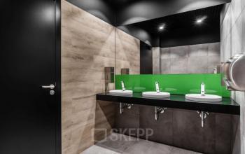 toaleta w biurowcu bit warszawa