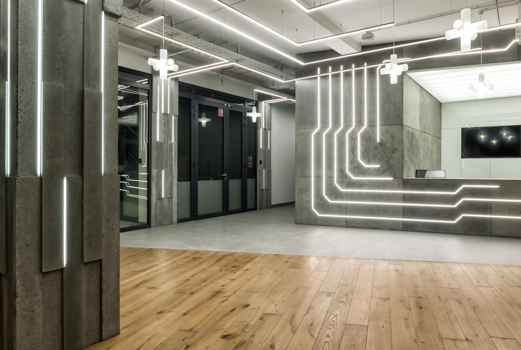 wejście do biurowca