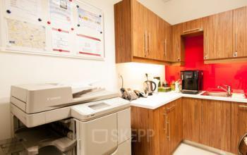 dostępna kuchnia w biurowcu