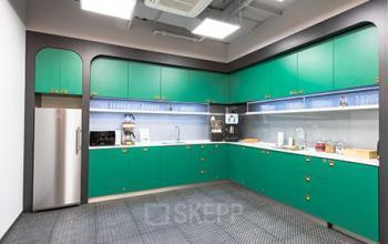 dostępna kuchnia w biurowcu solec