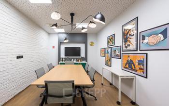 sala konferencyjna w biurowcu solec