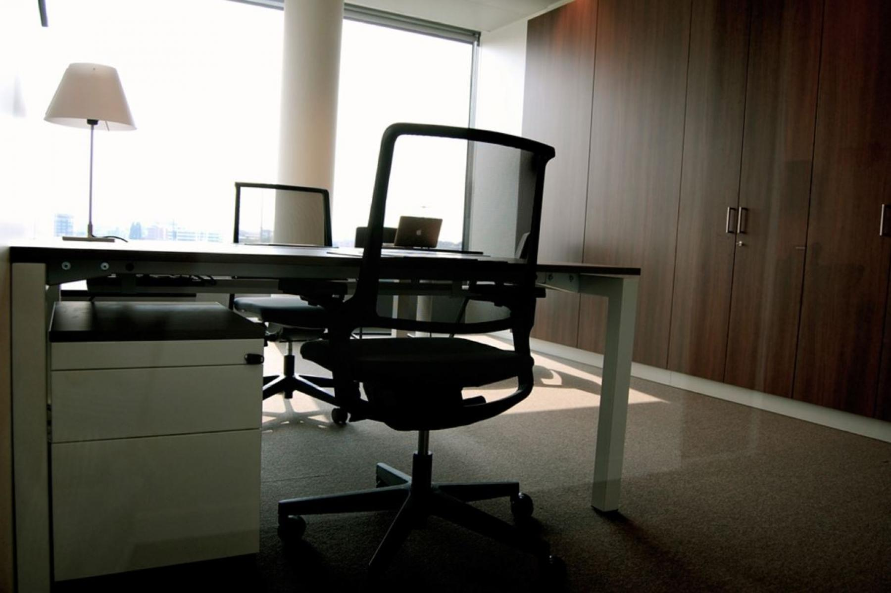 working spaces in the office