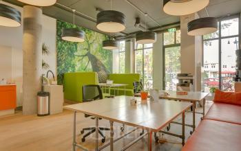 open werkruimte flexibele werkplekken loungeplekken printmogelijkheden tafel bureau zeist kantoor