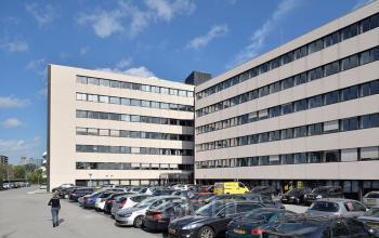 Outside view office building Zoetermeer Bredewater