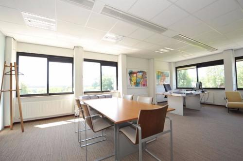 Office space with table and chairs
