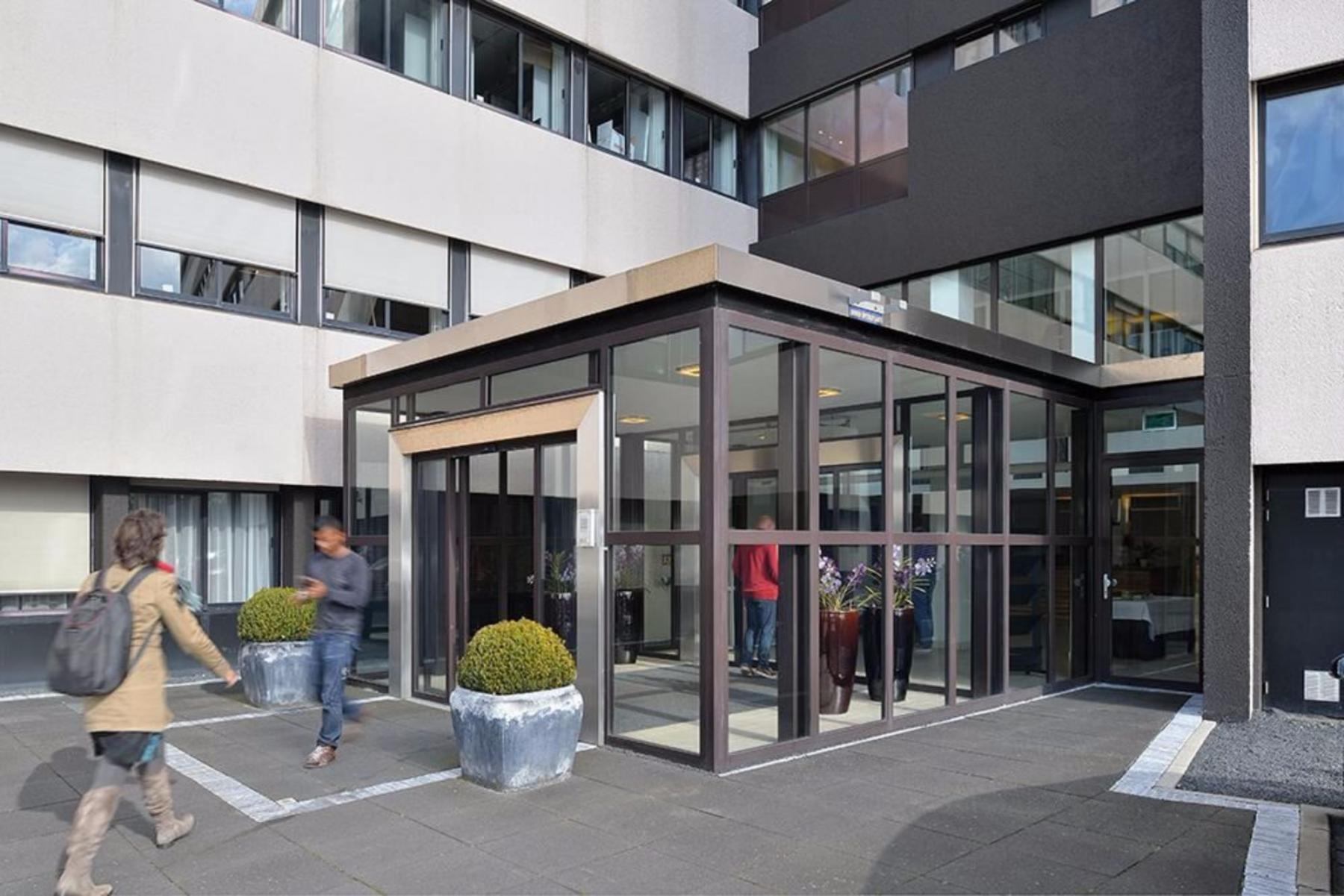 Entrance office building Zoetermeer with reception desk