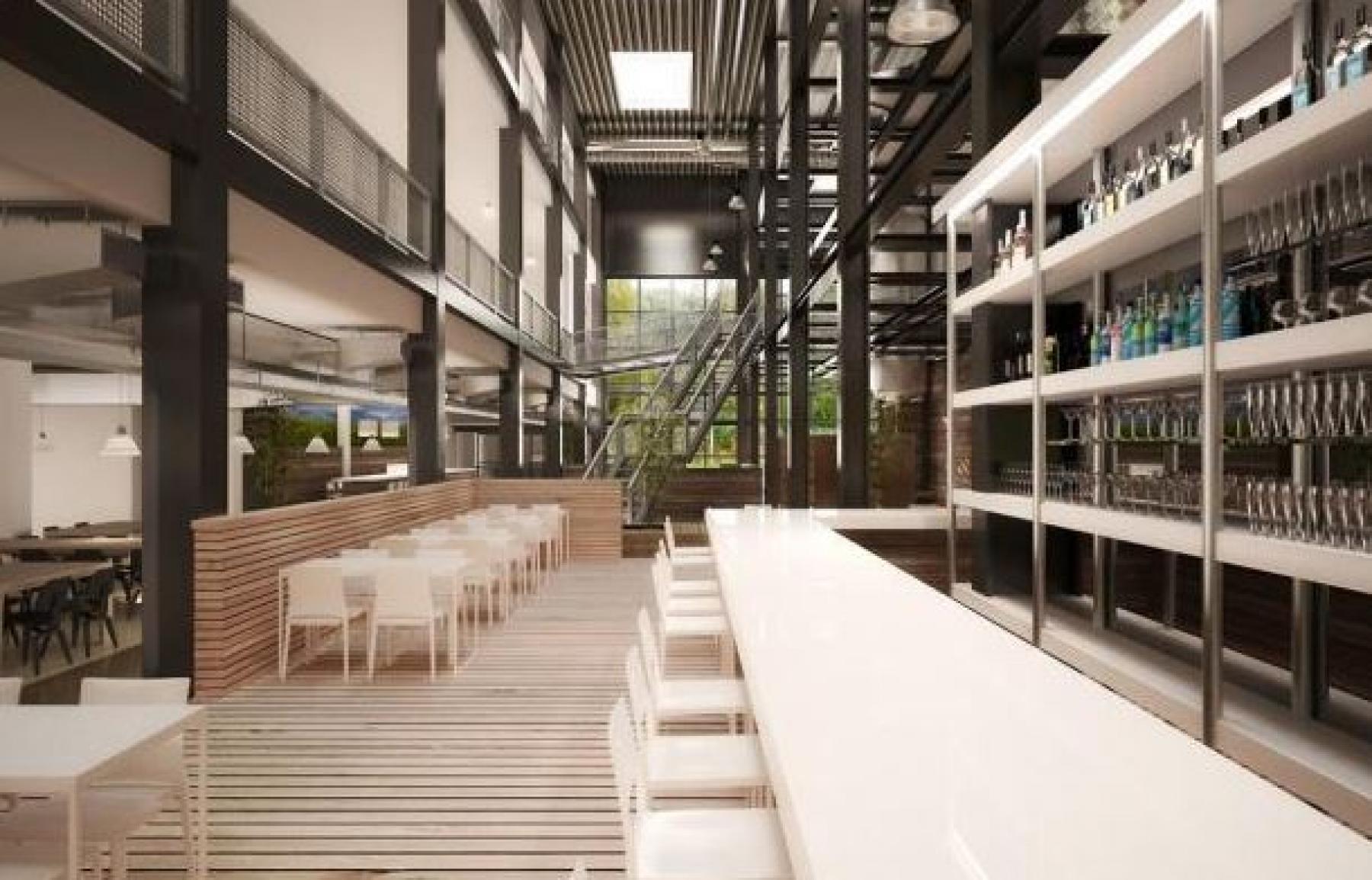 algemene ruimte lunchruimte kantoor zoetermeer