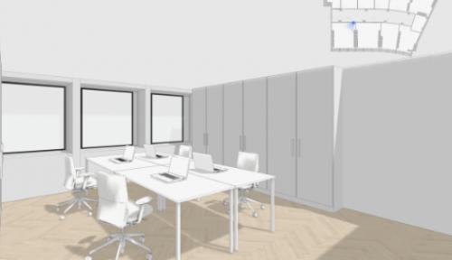 Stelle dir so dein neues Mietbüro in Zürich City vor