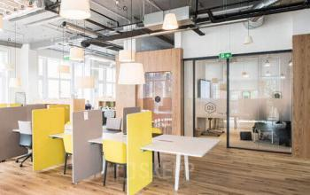 Interaktives Coworking im Business Center am Bleicherweg in Zürich