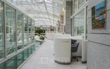 Stilvoller Empfangsbereich der Immobilie in Zürich-Enge