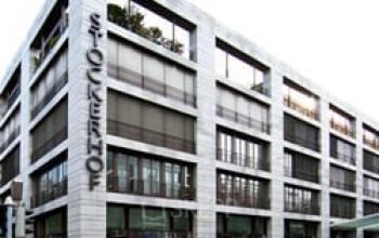 Innovatives Bürogebäude in Zürich-Enge an der Dreikönigstraße