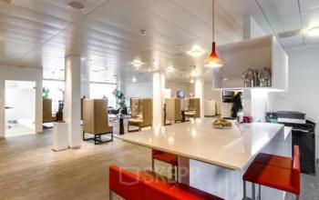 Stilvolle Business Lounge der Immobilie in Zürich