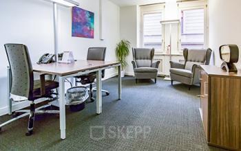 Modernes Büro mieten im Business Center in Zürich-Riesbach