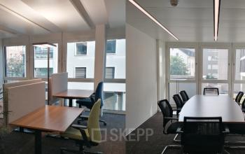 Private Büros in großer Bürofläche in Zürich