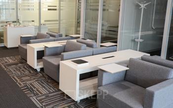 Bequeme Business Lounge der Immobilie in Zürich