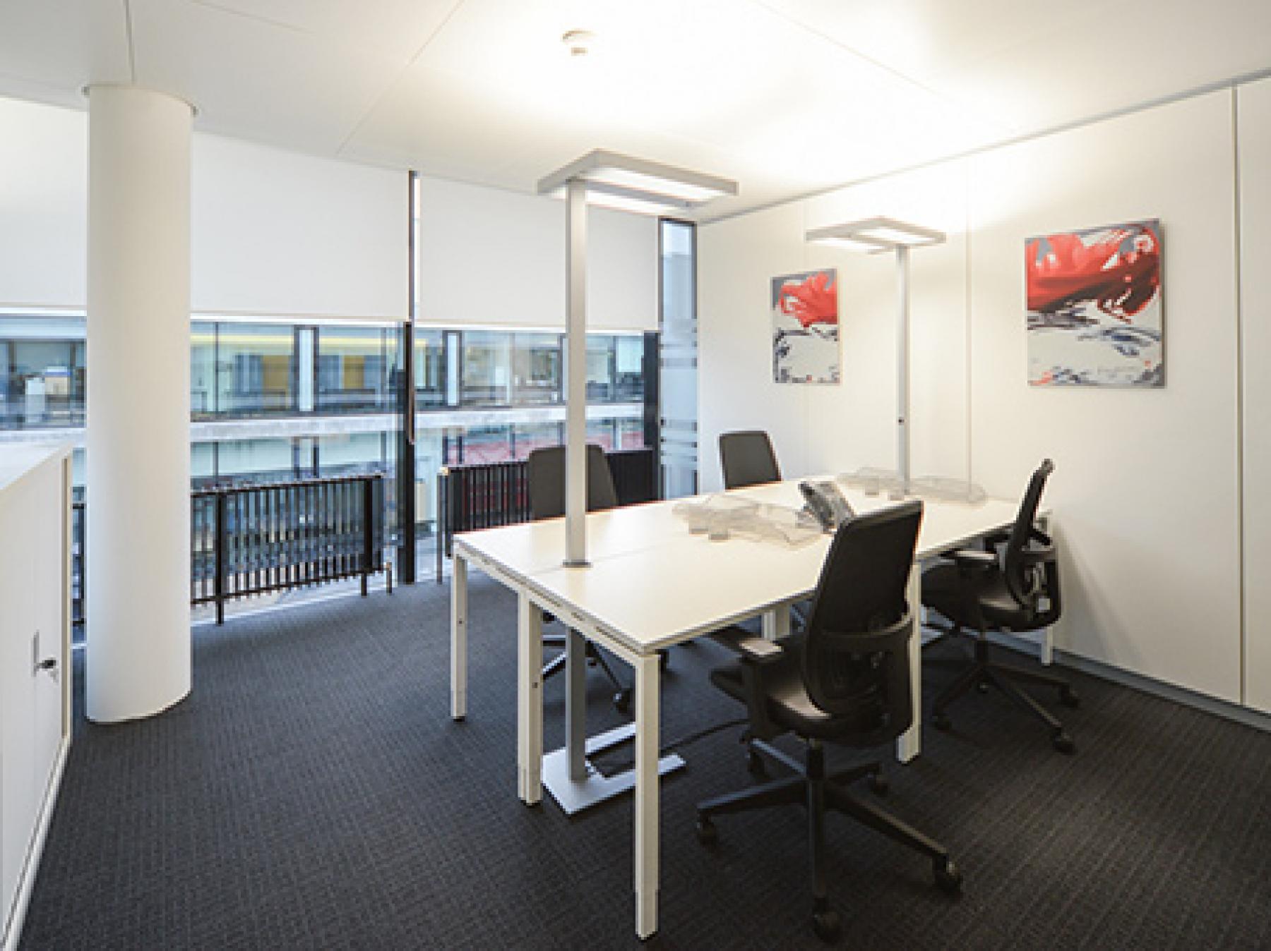 Helles Büro mieten im Business Center in Zürich-Wiedikon