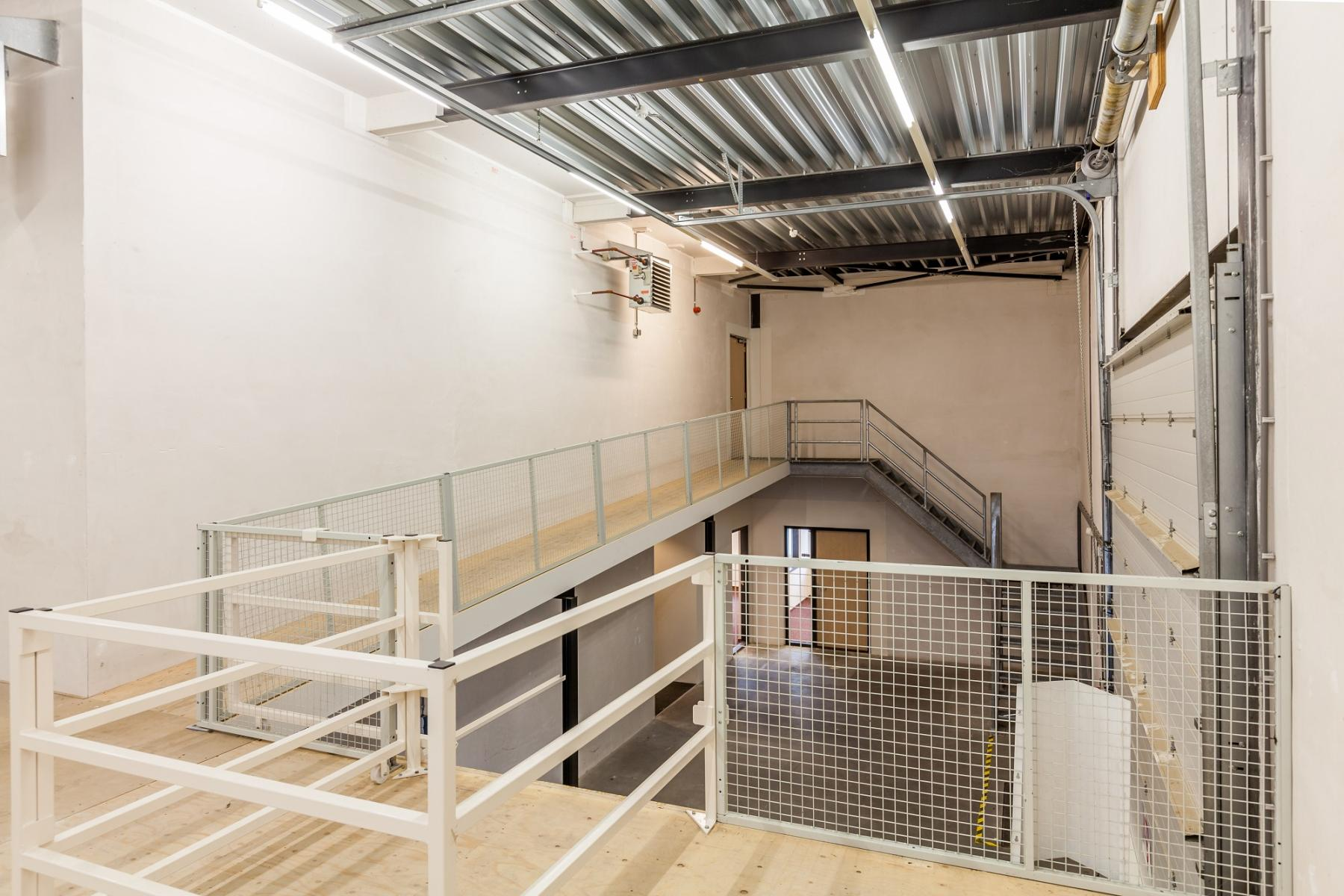 industrial steel hallway storage room for rent zutphen