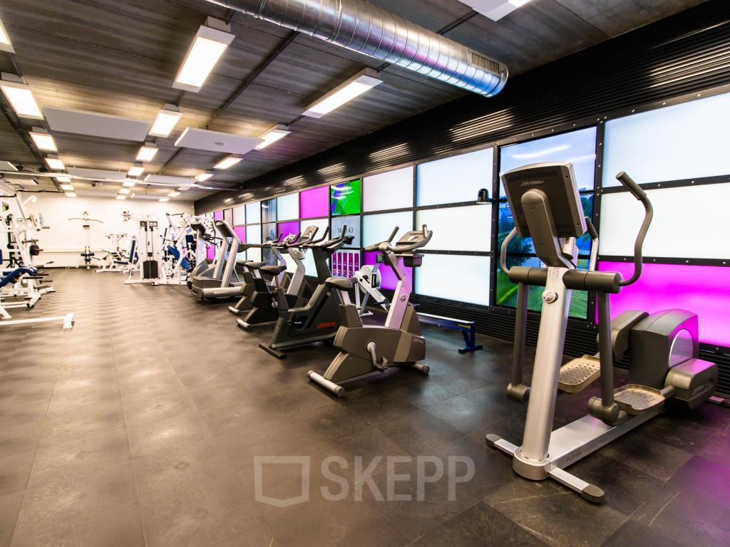Fitness room in your office space